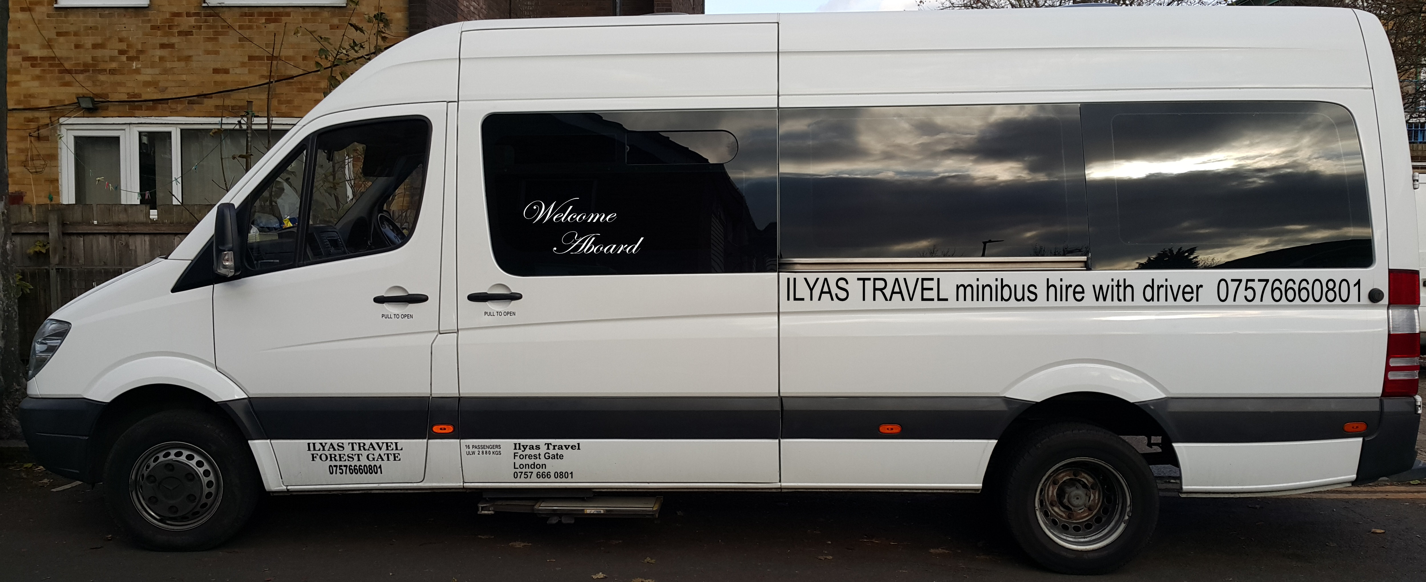 Minibus Hire London